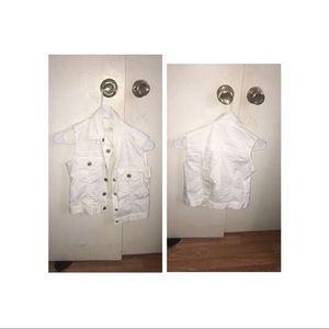 White Denim Jacket / Vest